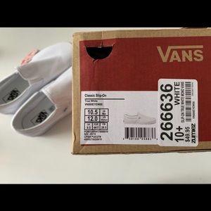 Vans Classic Slip On - Men's Size 10.5